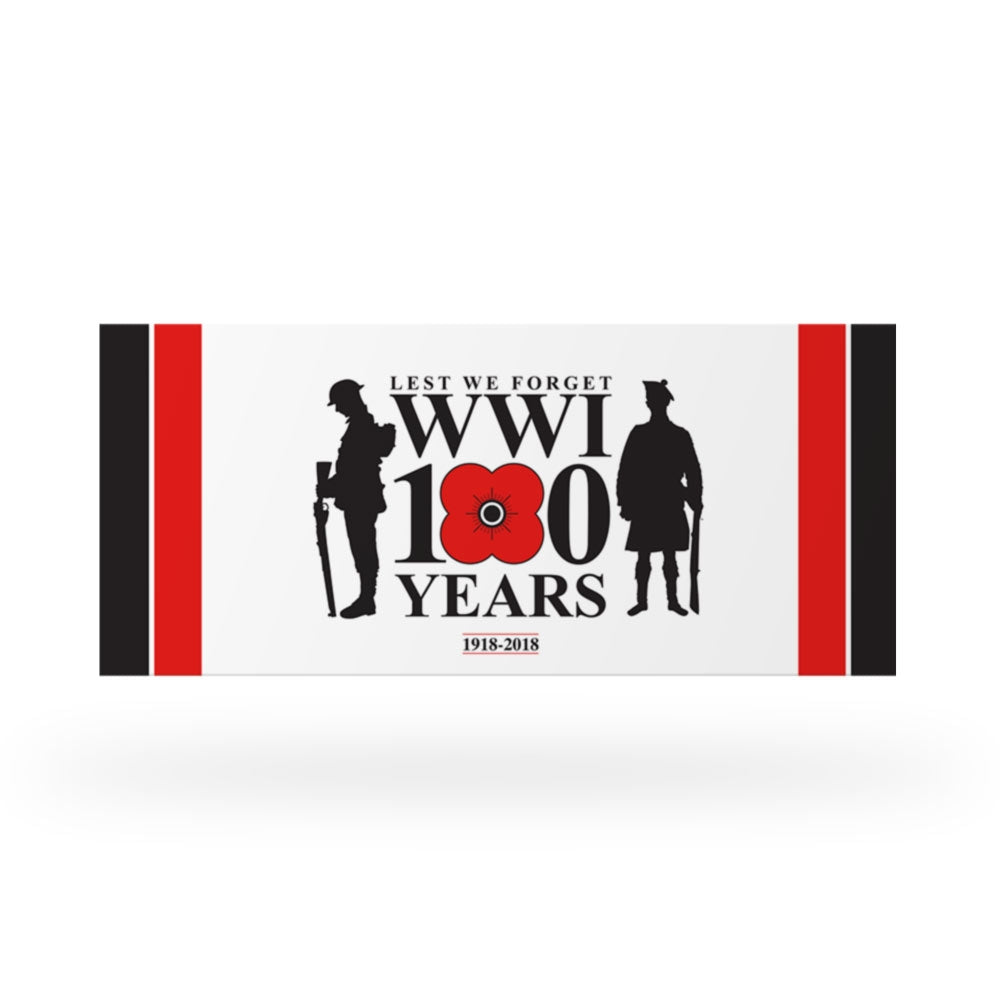 Poppyscotland 100 Years Car Bumper Sticker