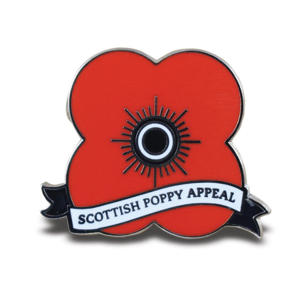 Poppyscotland Appeal Ribbon Pin Badge