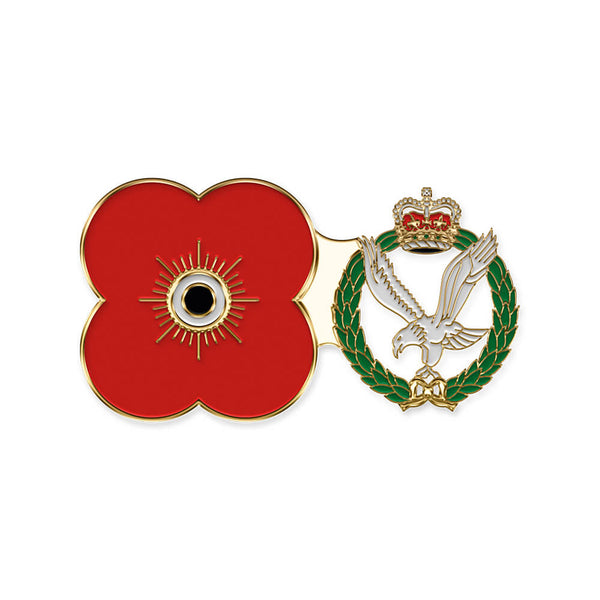 poppyscotland army air corps pin badge