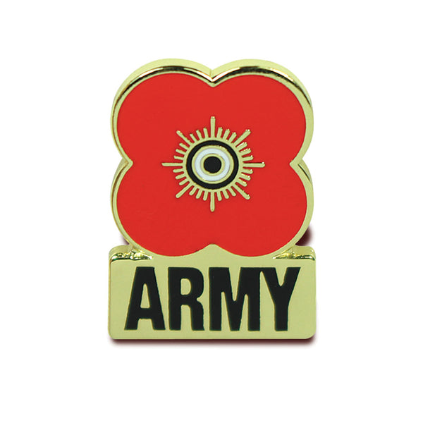 Poppyscotland Army Pin Badge