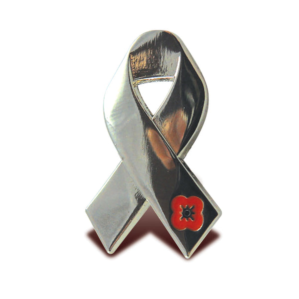 Poppyscotland Campaign Ribbon Pin Badge