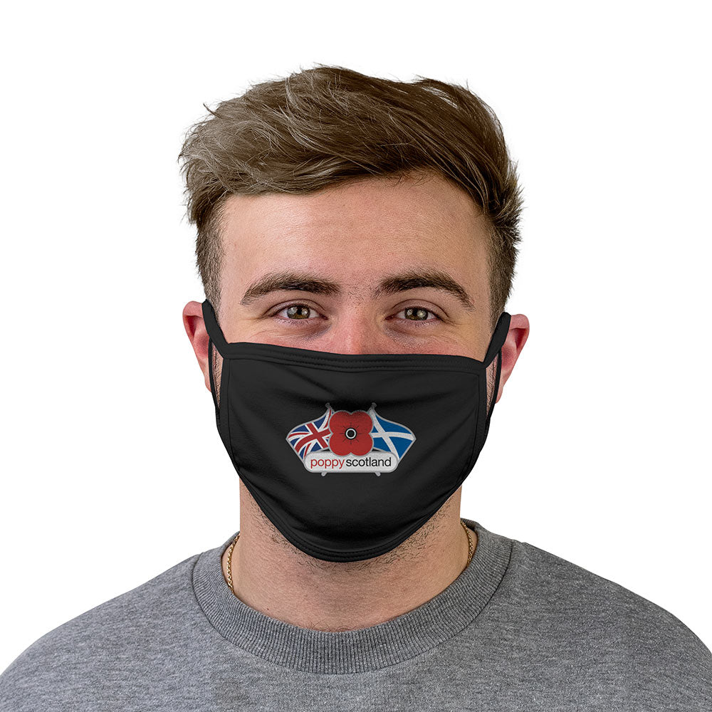 Poppyscotland personalised facemask
