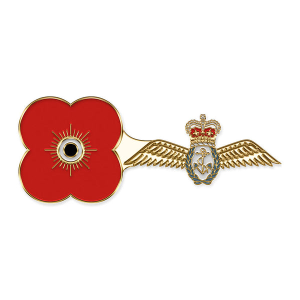 poppyscotland fleet air arm pin badge r04