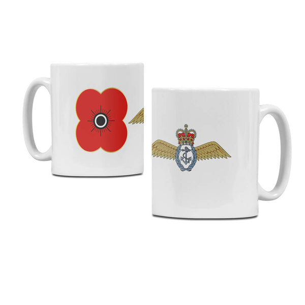 poppyscotlant fleet air arm regimental mug M04