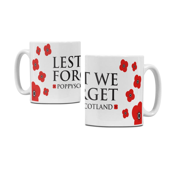 Poppyscotland Lest we Forget Ceramic Mug