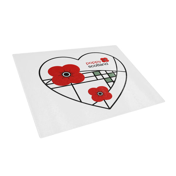 poppyscotland Mackintosh style chopping board