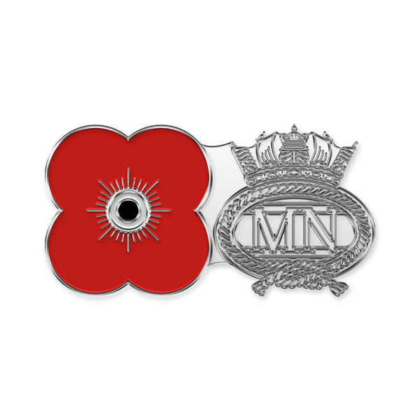 poppyscotland merchant navy pin badge r13