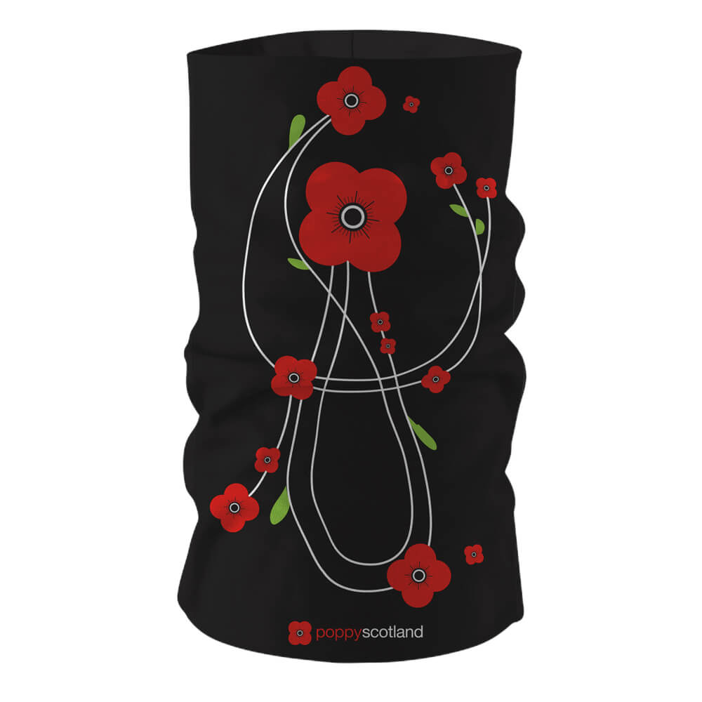 poppyscotland mackintosh style poppies multifunctional face covering