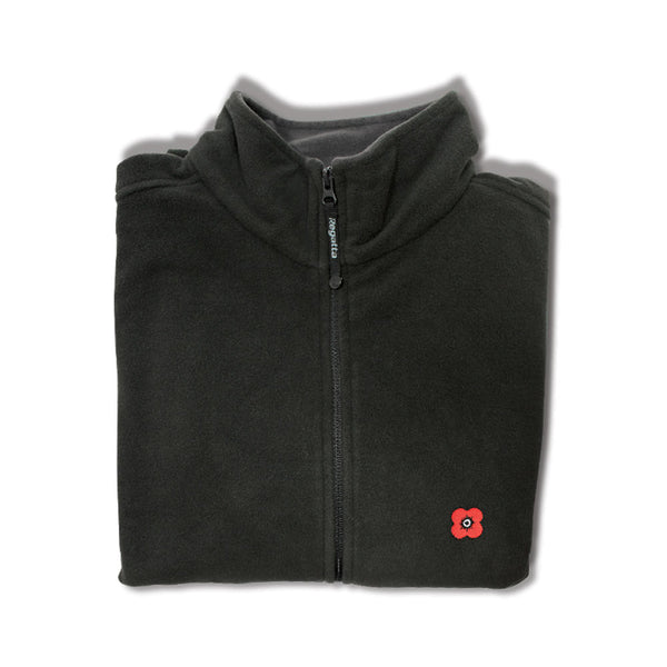 Poppyscotland Mens Outdoor Fleece Jacket