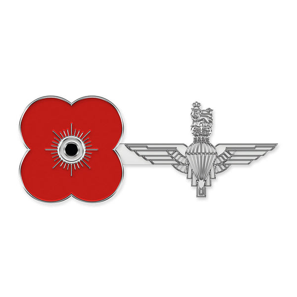 poppyscotland parachute regiment pin badge r10