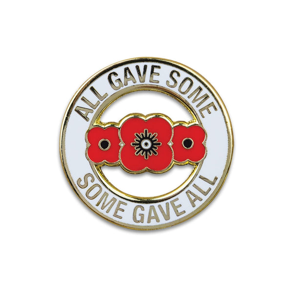 Poppyscotland All Gave Some Pin Badge