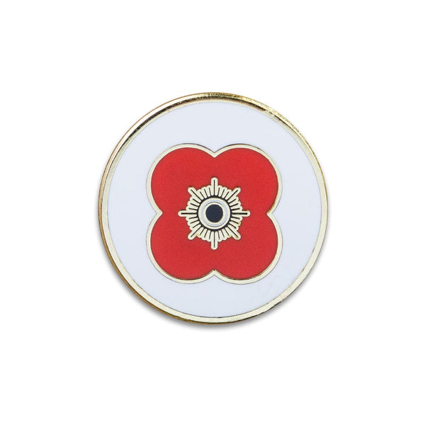 Poppyscotland Poppy Logo Pin Badge