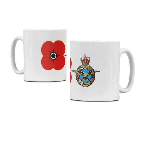 poppyscotland royal air force regimental mug M12