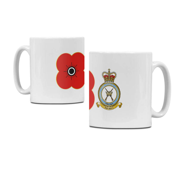 poppyscotland royal air force regiment regimental mug M15