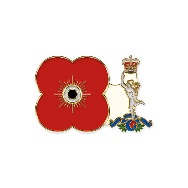 poppyscotland royal corps of signals pin badge r20
