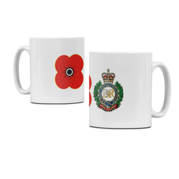 poppyscotland royal engineers regimental mug M05