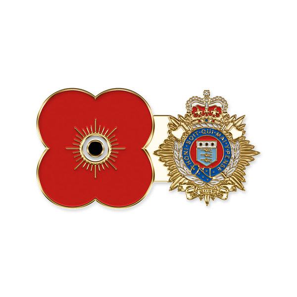 poppyscotland royal logistics corps pin badge r14