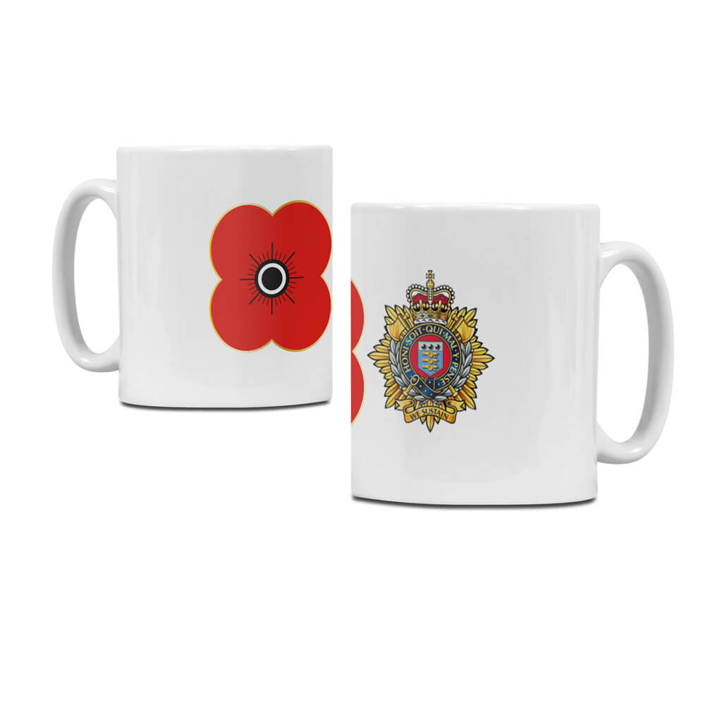 poppyscotland royal logistics corps regimental mug M14