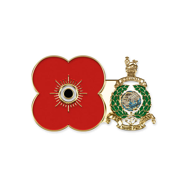 poppyscotland royal marines pin badge r08