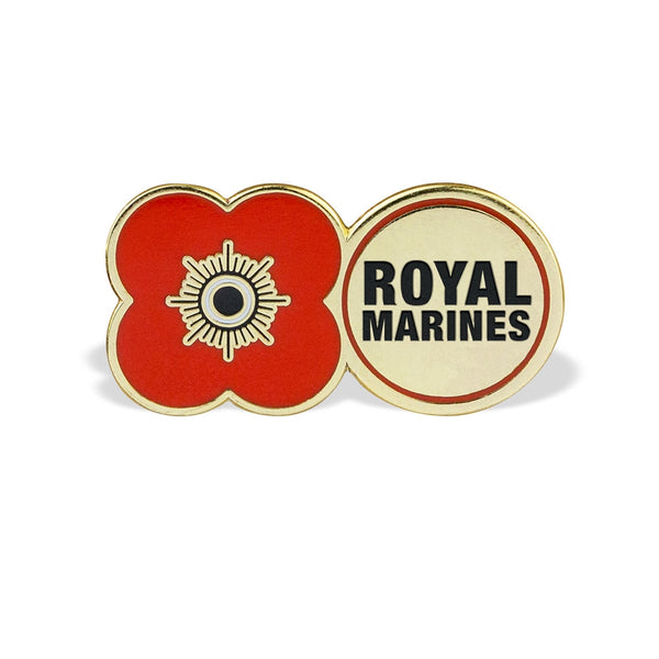 Poppyscotland Royal Marines Pin Badge