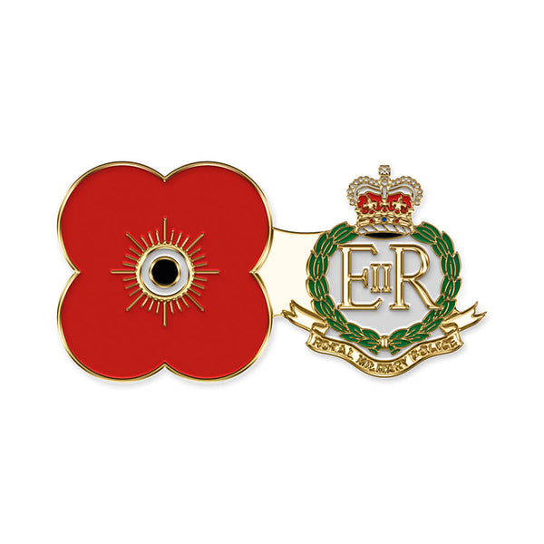 poppyscotland royal military police pin badge r11