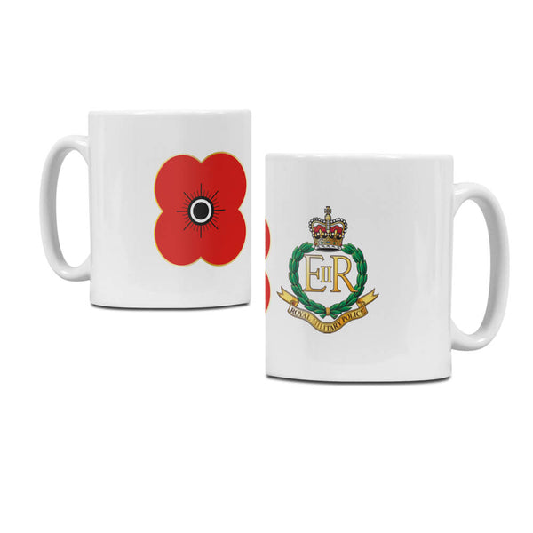 poppyscotland royal military police regimental mug M11