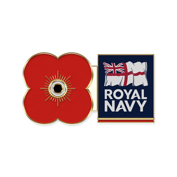 poppyscotland royal navy pin badge r16