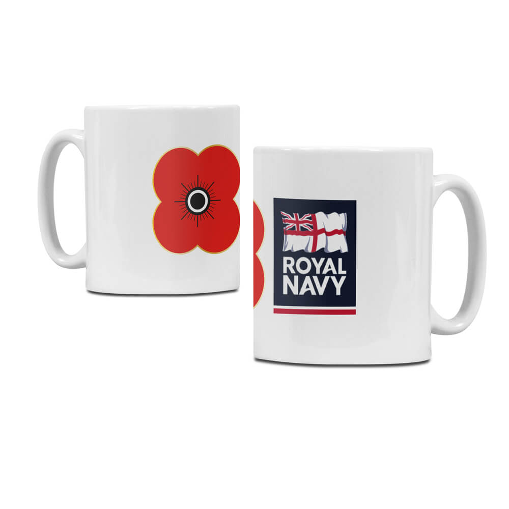poppyscotland royal navy regimental mug M16