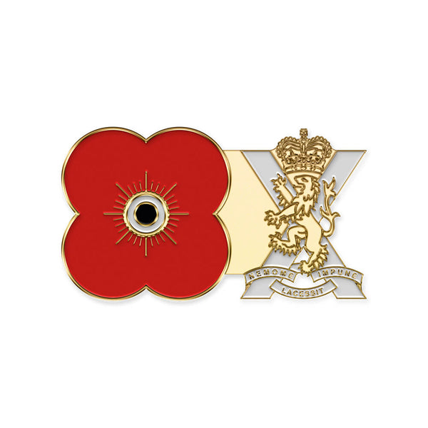 poppyscotland royal regiment of scotland pin badge r17