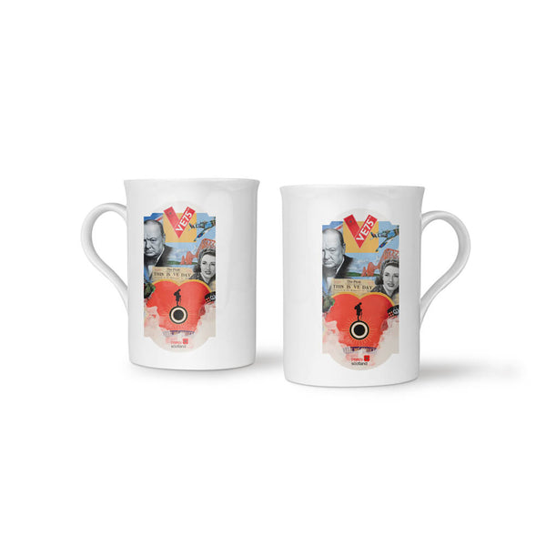 poppyscotland scotland remembers china mug