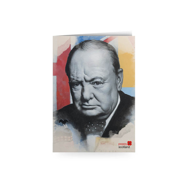 poppyscotland scotland remembers churchill greetings card craig campbell