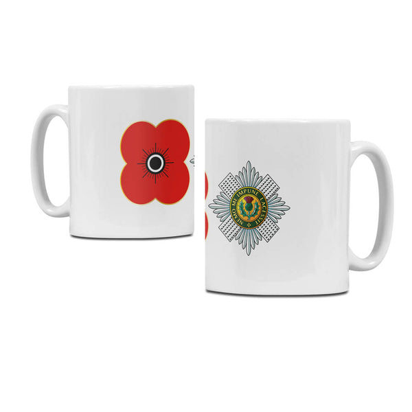poppyscotland scots guards regimental mug M08