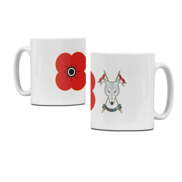 poppyscotland scottish & northern irish yeomanry regimental mug M21