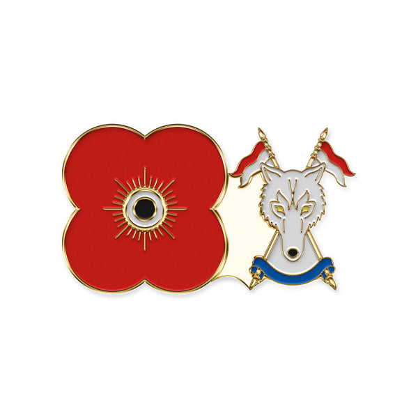 poppyscotland scottish and northern irish yeomanry pin badge r21