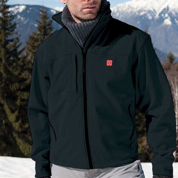 Poppyscotland Mens Poppy Softshell Jacket