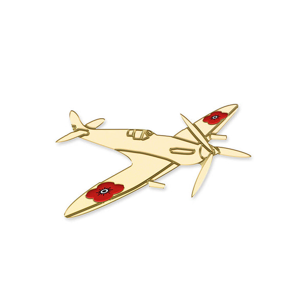 poppyscotland spitfire pin badge 20C