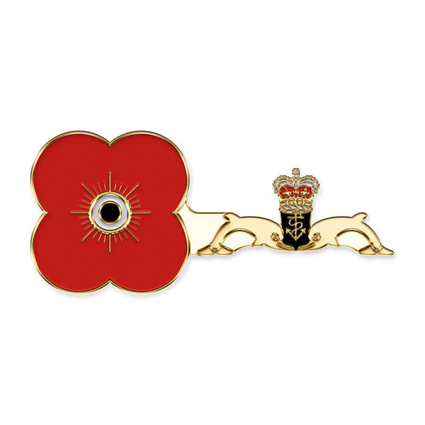 poppyscotland submarine service pin badge r18