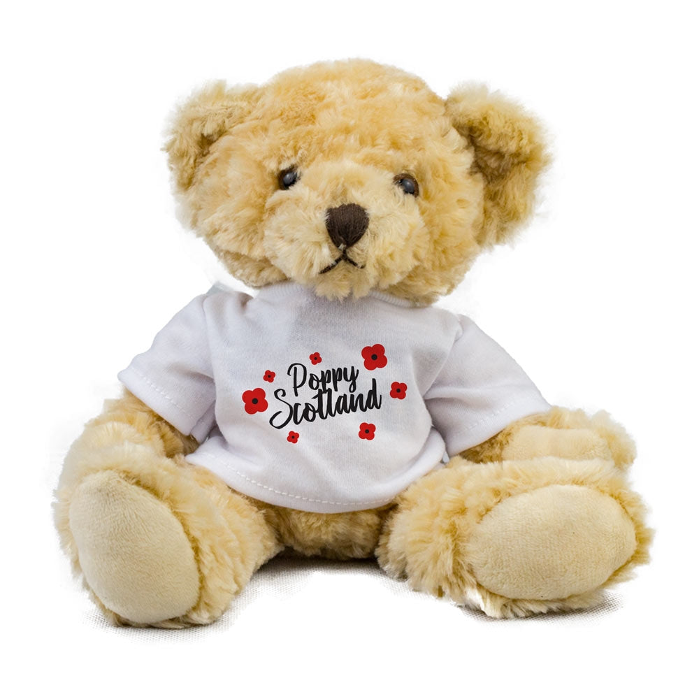 Poppyscotland Poppy Teddy Bear