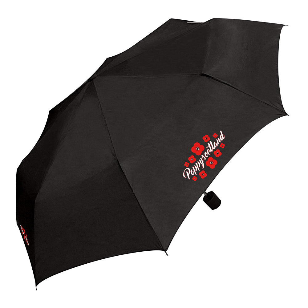 Poppyscotland Telescopic Mini Umbrella