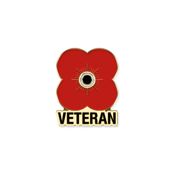 poppyscotland veteran poppy pin badge 20E