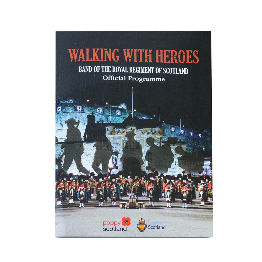 Walking With Heroes Tour Programme