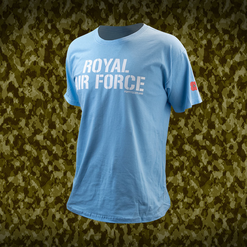 Poppyscotland Royal Air Force T-Shirt