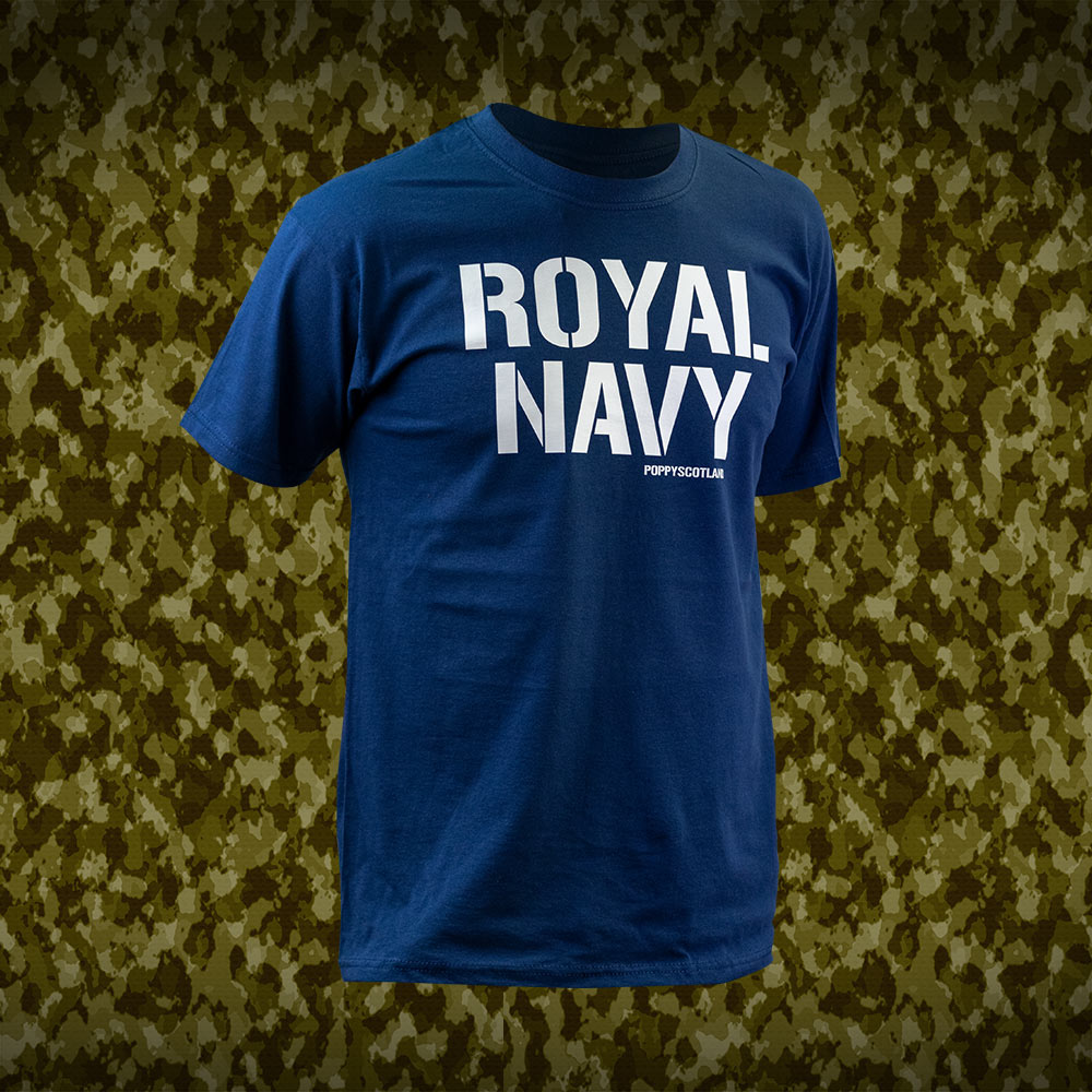 Poppyscotland Royal Navy T-Shirt