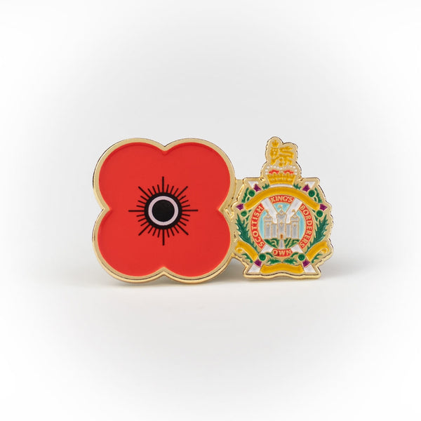 The King's Own Scottish Borderers Pin Badge