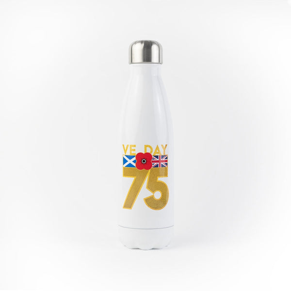 Poppyscotland VE Day Aluminium Water Bottle