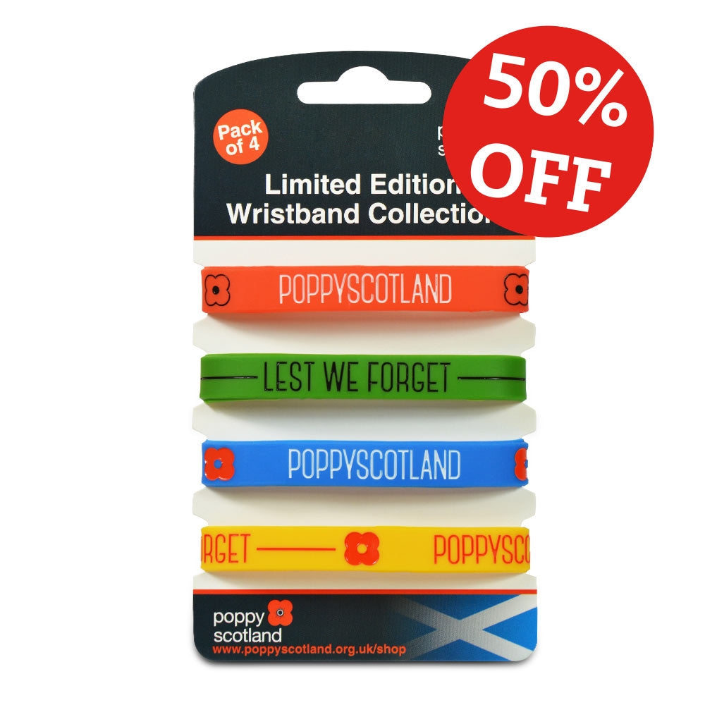 Limited Edition Wristband Collection (Pack of 4)