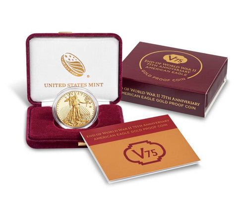 2020-W American Eagle Gold Proof V75 WW2