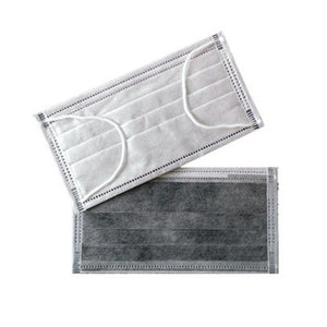 4 ply with Carbon DND Mask*Surgical Disposable Face Masks 4-Ply with carbon filter.  Professional High Quality Protection Masks