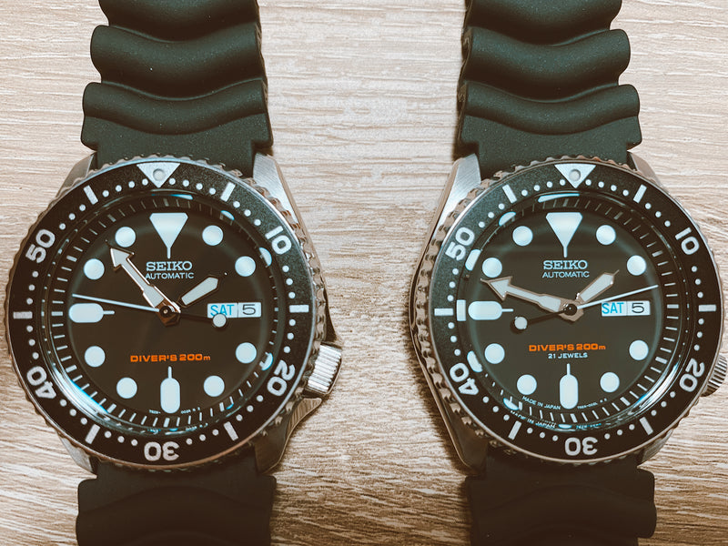 What's The Big Difference Between Seiko SKX J And K Models?