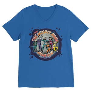 Blue God and Other Stories Collection Blue God Album cove Premium V-Neck T-Shirt